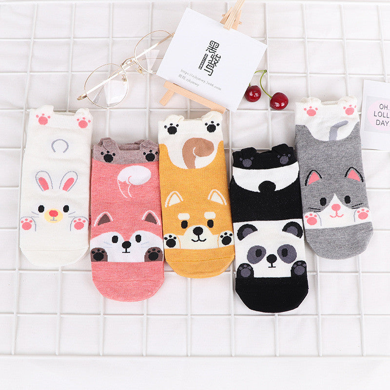 Chaussettes Animaux Malicieux