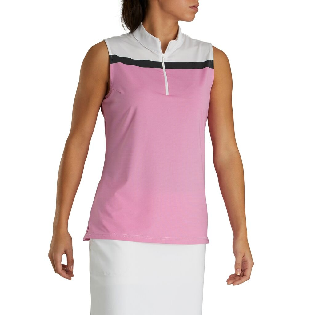 Foot Joy Lisle Sleeveless Zip Women