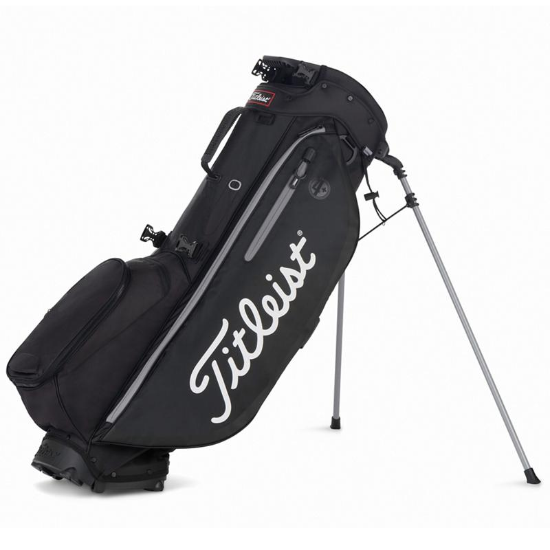 Titleist Player's 4 Plus Stand Bag - Black