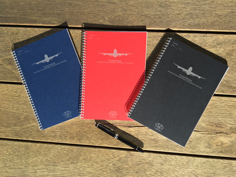 A5-sized FLIGHTBOOK™