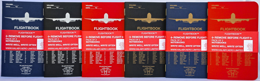 Pocket-sized FLIGHTBOOK™