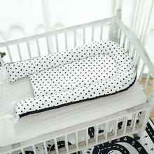 Load image into Gallery viewer, Black Dots Baby Lounger