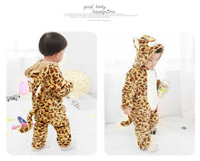 Load image into Gallery viewer, New Leopard Baby Onesie