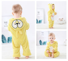 Load image into Gallery viewer, Yellow Bird Baby Onesie