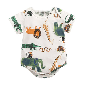 Baby Cartoon Romper