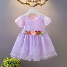 Load image into Gallery viewer, Floral Tulle Princess Dress