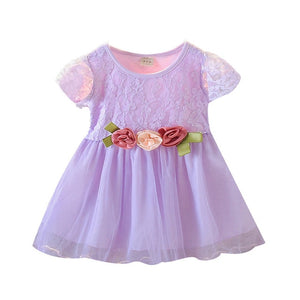 Floral Tulle Princess Dress