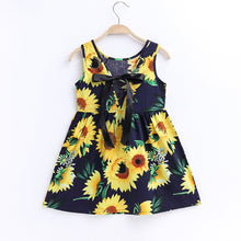 Load image into Gallery viewer, Sunflowers Princess Dress