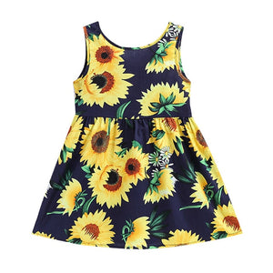 Sunflowers Princess Dress