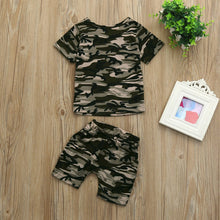 Load image into Gallery viewer, Baby Boy Camouflage Set