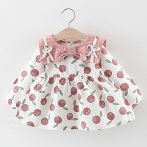 Baby Girls Long Sleeve Bow