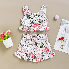 Load image into Gallery viewer, Flowers Baby Girl Dress