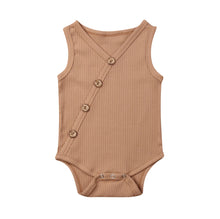 Load image into Gallery viewer, Ribbed Baby Bodysuit