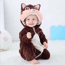 Load image into Gallery viewer, Squirrel Baby Onesie