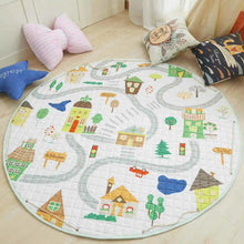 Load image into Gallery viewer, Cartoon foldable Soft Rugs & Toy Storage
