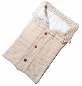 knitted Baby Swaddle