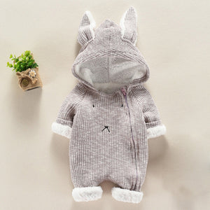 Cartoon Hooded Jumpsuit