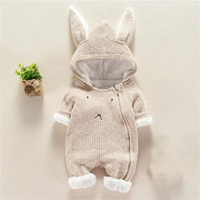 Load image into Gallery viewer, Cartoon Hooded Jumpsuit