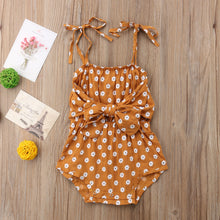 Load image into Gallery viewer, Flowers Shoulder Strap Romper