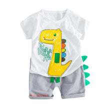 Load image into Gallery viewer, Dinosaur Shorts