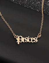 Load image into Gallery viewer, What's your Sign Necklace