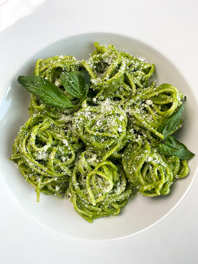 Anyone Can Make This Peruvian Pesto Linguine Recipe in 20 Minutes