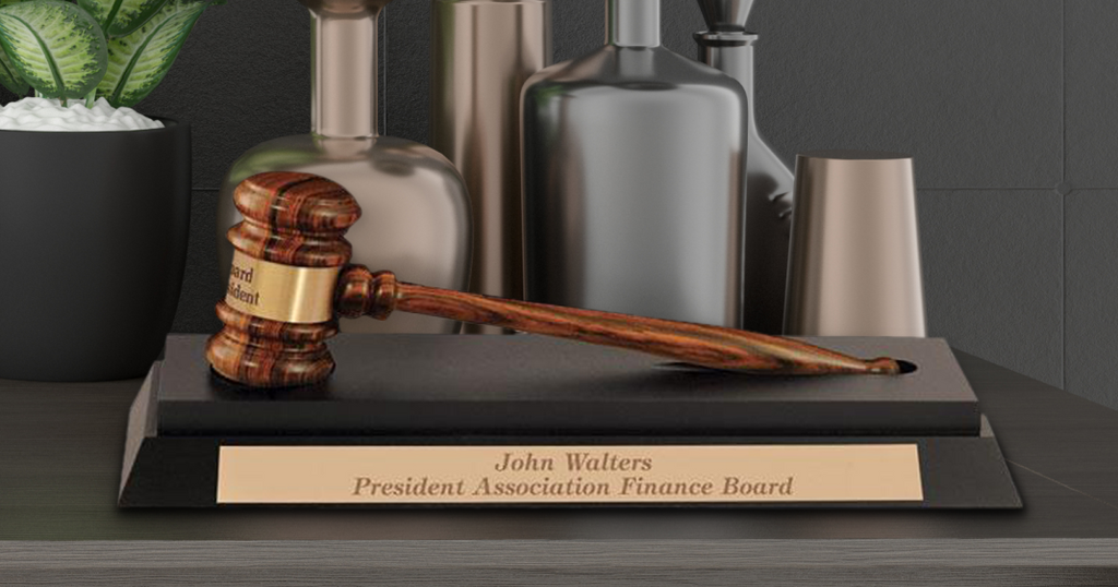 Where to buy a gavel as a gift