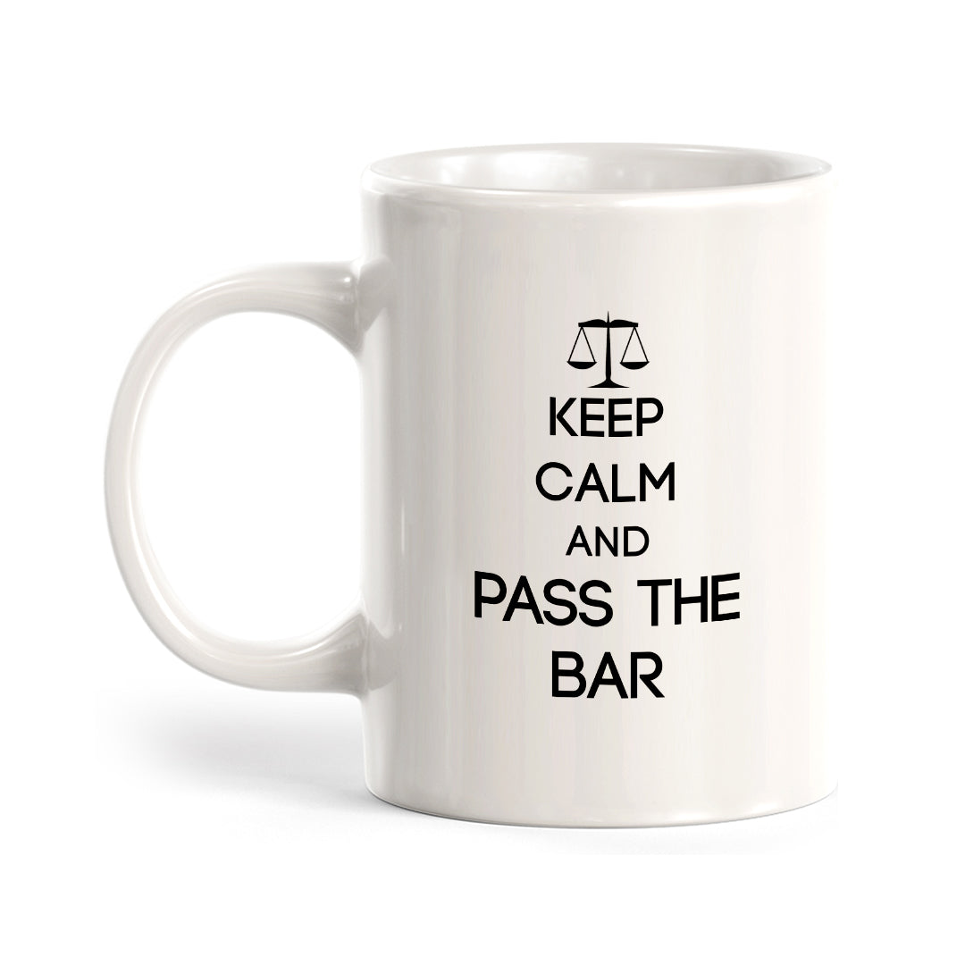 Keep Calm and Pass the Bar Coffee Mug