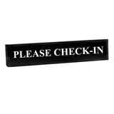 Please Check-In - Office Desk Accessories D?cor