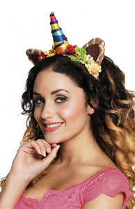 Tiara jungle unicorn dames one size