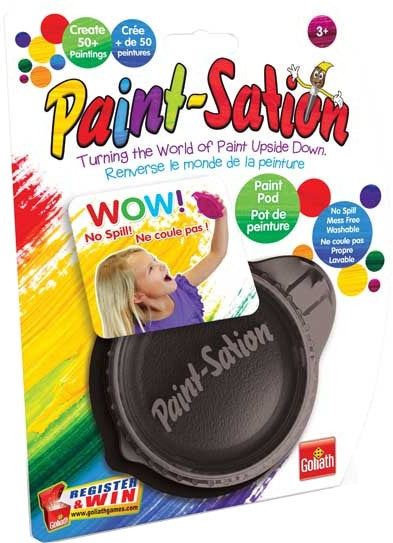 Paint-station navulling zwart