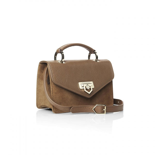 hoity-toity-shoes - The Loxley Mini Cross Body Ladies Handbag in Tan Leather - Fairfax & Favor - Accessories > Handbag