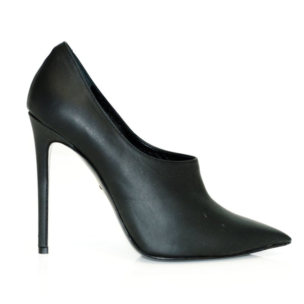 hoity-toity-shoes - High Heel Ankle Bootie in Nappa Leather - Giorgio Fabiani - High Heel Bootie