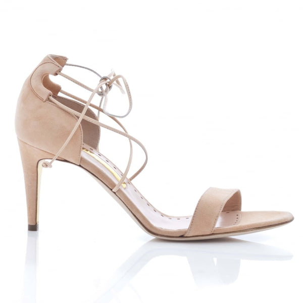 hoity-toity-shoes - New Mitra Mid Heeled Ravel Strappy Sandal - Rupert Sanderson - Strappy Sandal,High Heel