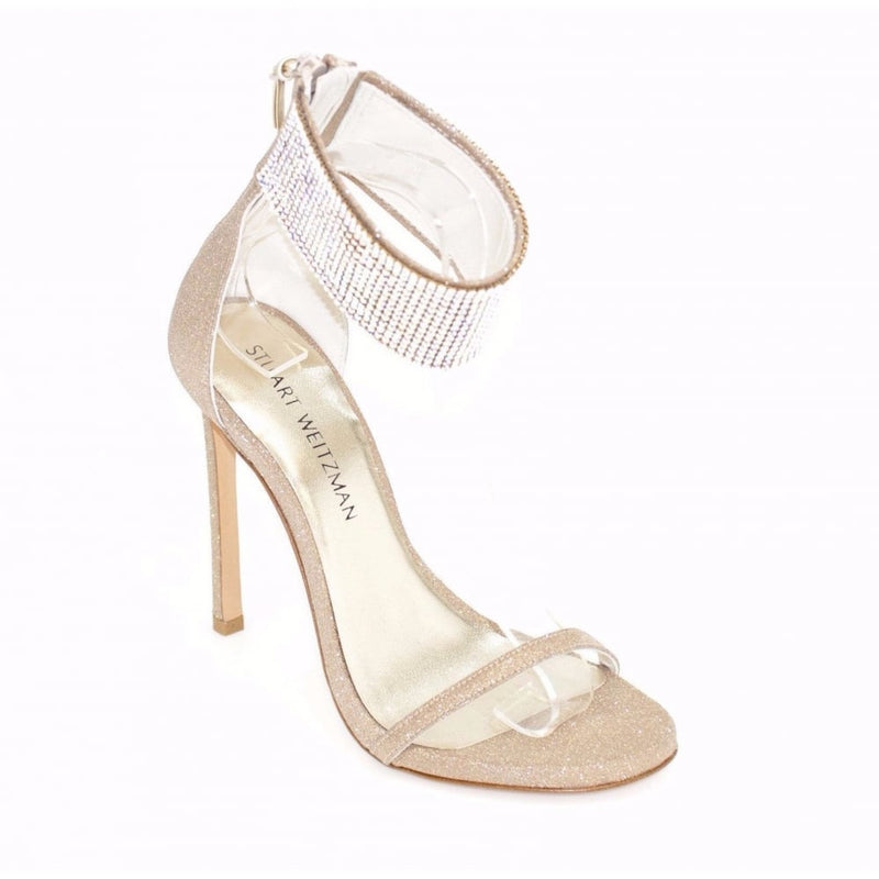 hoity-toity-shoes - Cuff Love Ankle Strap High Sandals - Stuart Weitzman - Strappy Sandal,High Heel