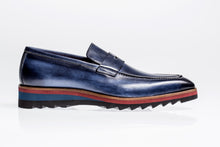 Load image into Gallery viewer, Jose Real Amberes Sport Loafer Navy