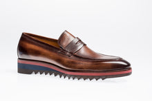 Load image into Gallery viewer, Jose Real Amberes Sport Loafer Brown