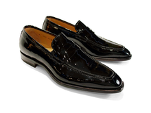 Load image into Gallery viewer, Harrison Patent Penny Loafer