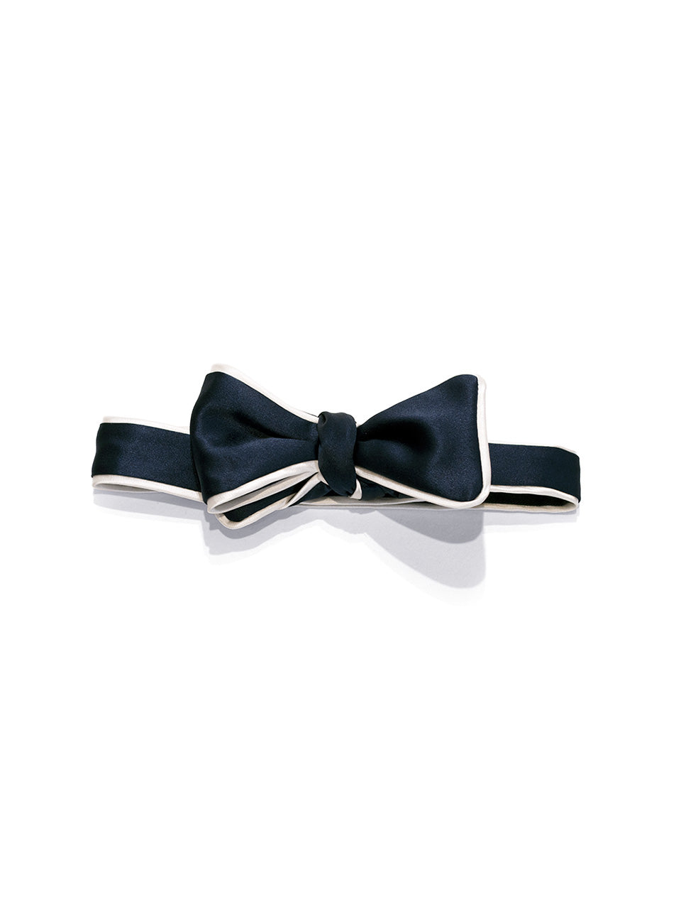 Navy Self Bow with Piping