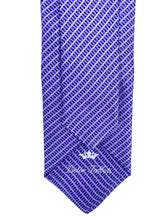 Load image into Gallery viewer, Lavender & Black Micro Check Necktie & Pocket Square Set