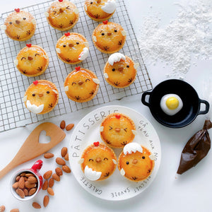 Little Miss Bento Baking Kit - Baby Chick Apple & Coconut Tart