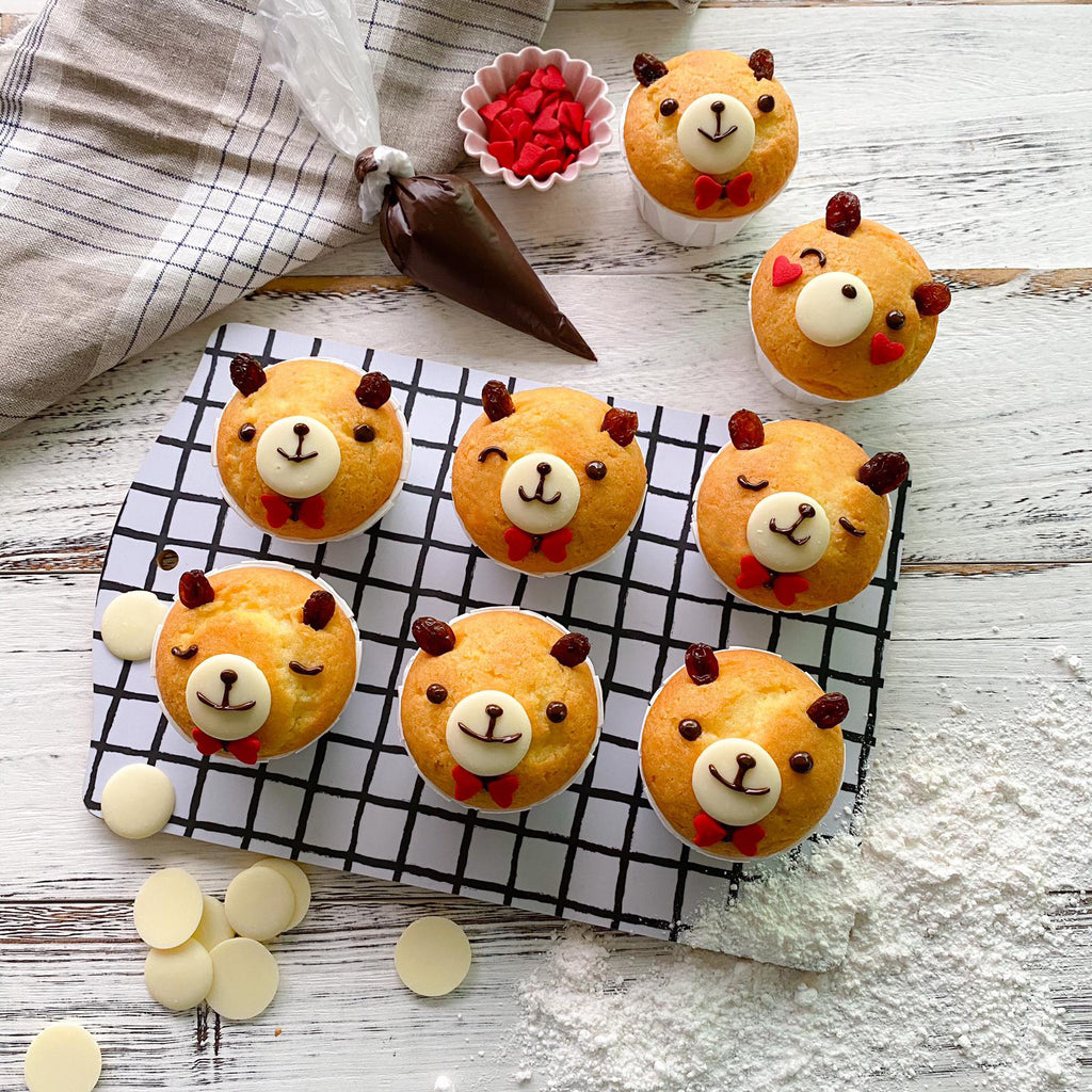 Little Miss Bento Baking Kit - Little Bear Muffin