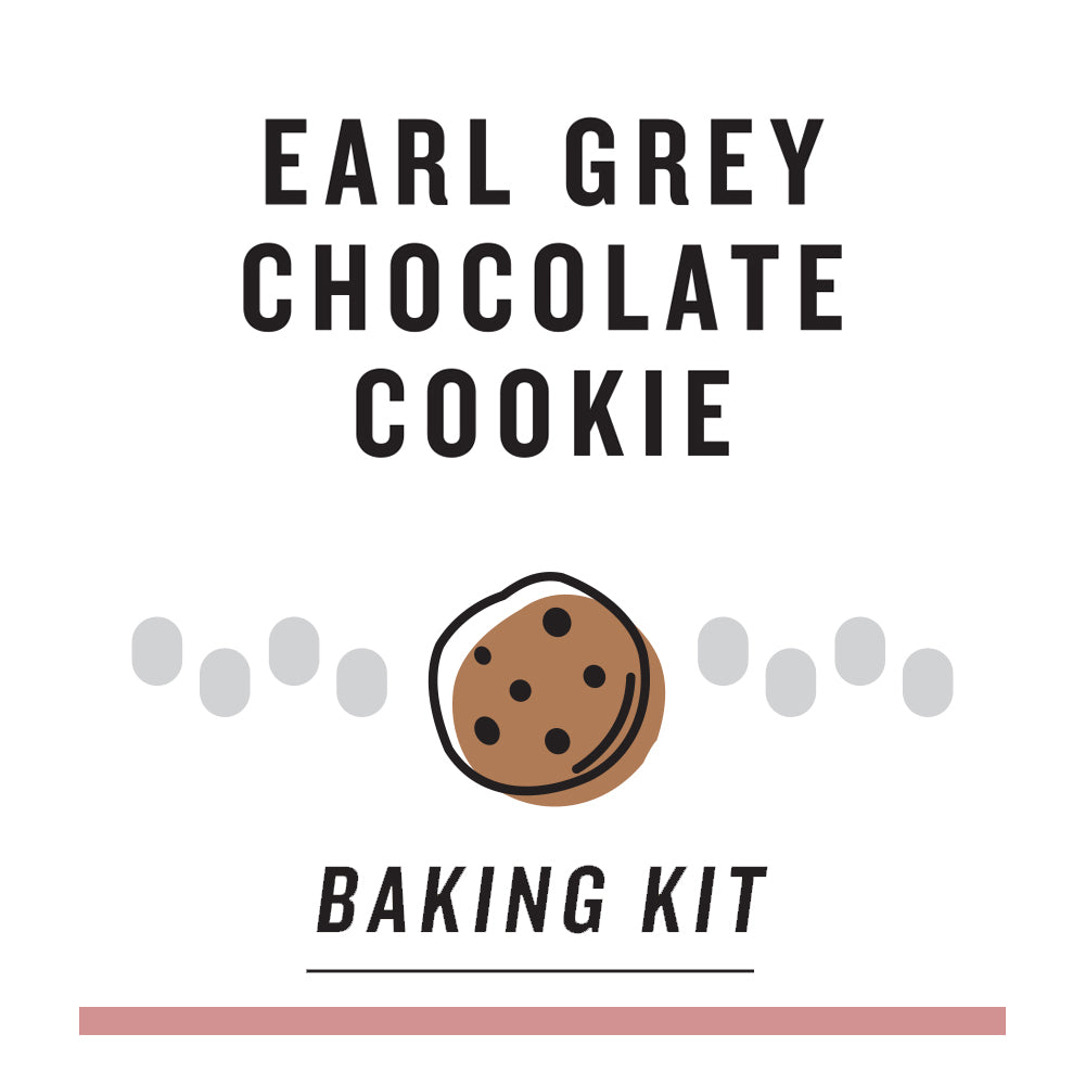 Baking Kit - Earl Grey Chocolate Cookies