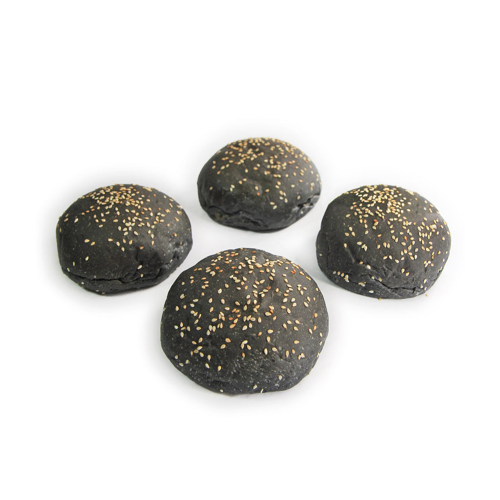 Charcoal Bun (pack of 4)