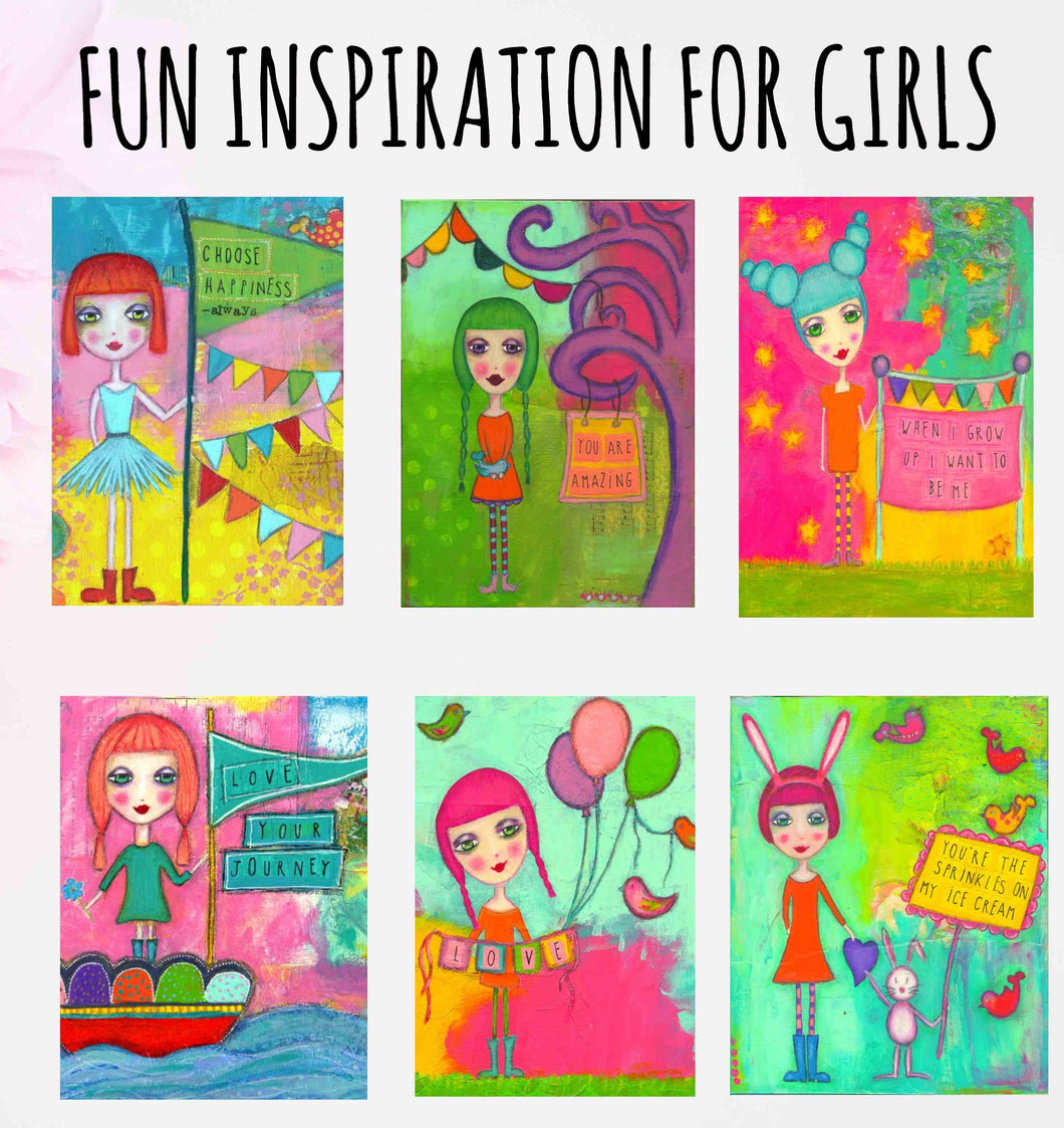 INSPIRATION FOR GIRLS Card Pack