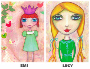 LITTLE GIRLS PACK No. 2 Card Pack