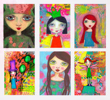 Load image into Gallery viewer, QUIRKY GIRLS Card Pack