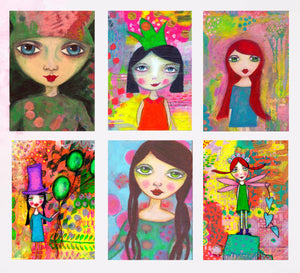 QUIRKY GIRLS Card Pack