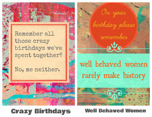 LOL BIRTHDAY CARD Card Pack