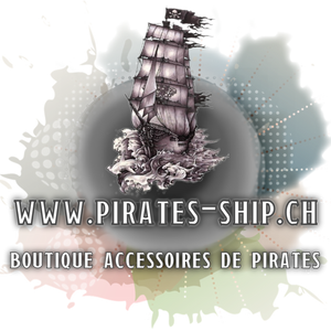 "Bijoux  d'inspiration ""PIRATE"" de l'Atelier Loreline chez Pirates-ship.ch"